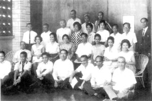 A TS group photo in 1948