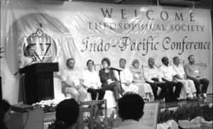 The 9th Indo-Pacific Conference was again held in Manila on Nov., 2007. Seated on the rightmost is Pedro Oliveira, outgoing President, and seated on the leaftmost is John Vorstermans, incoming President.