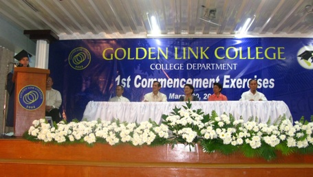 Golden Link College graduation